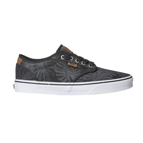 Sneakers da uomo vans, nero, 889-6198 - 15