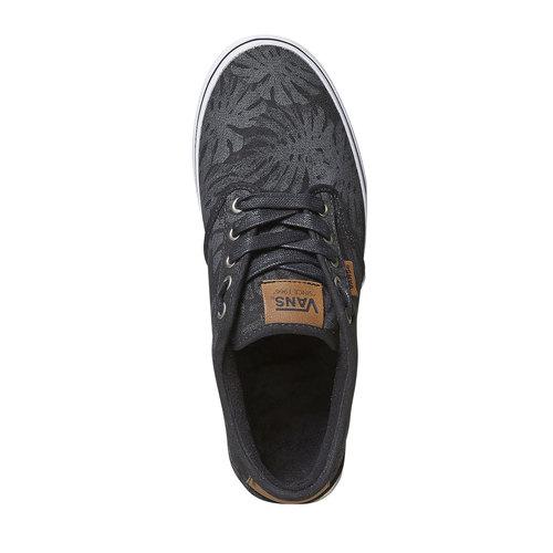 Sneakers da uomo vans, nero, 889-6198 - 19