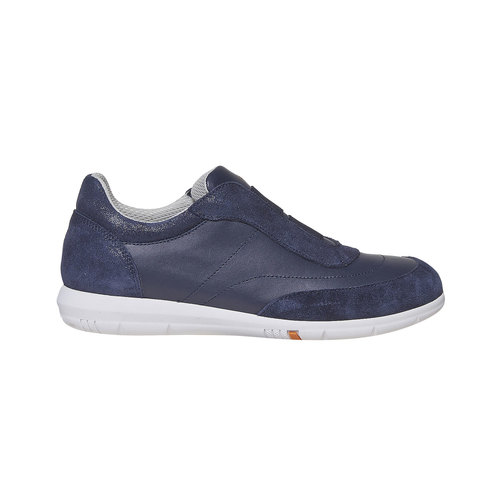 Sneakers da donna in pelle flexible, 514-0271 - 15