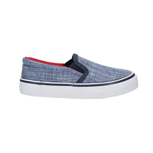 Scarpe da bambino in stile Slip-on, blu, 219-9160 - 15