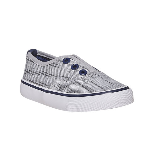 Slip-on da bambino, grigio, 219-2154 - 13