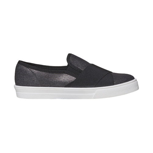 Slip-on da donna north-star, nero, 519-6382 - 15