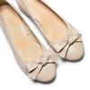 Ballerine con tacco bata, beige, 524-8420 - 26