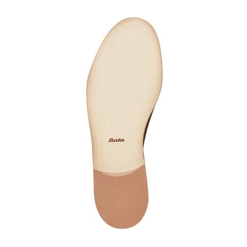 Scarpe in pelle alla caviglia bata, nero, 594-6432 - 26