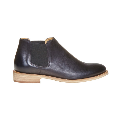 Scarpe in pelle alla caviglia bata, nero, 594-6432 - 15
