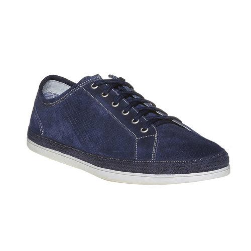 Sneakers in pelle da uomo bata, blu, 843-9275 - 13