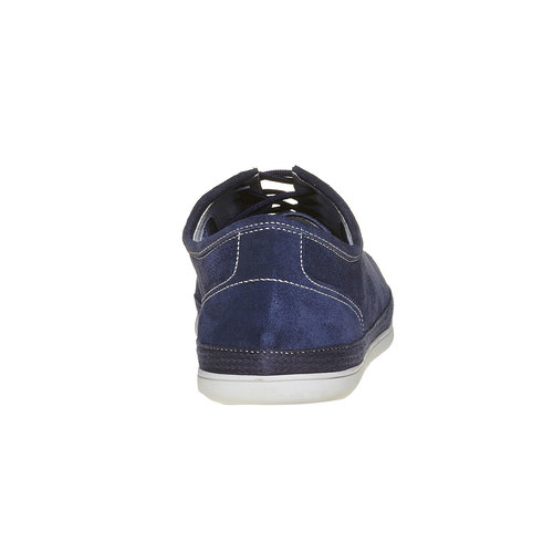 Sneakers in pelle da uomo bata, blu, 843-9275 - 17