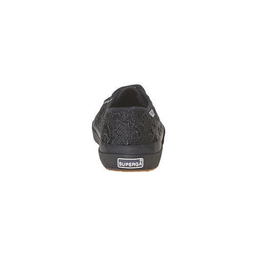 Sport shoe  superga, nero, 589-6309 - 17