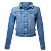 Giacca di jeans da donna bata, blu, 979-9115 - 13