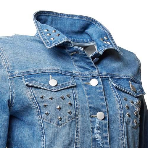 Giacca di jeans da donna bata, blu, 979-9115 - 16