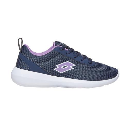 Sneakers blu da donna lotto, nero, 509-6952 - 15