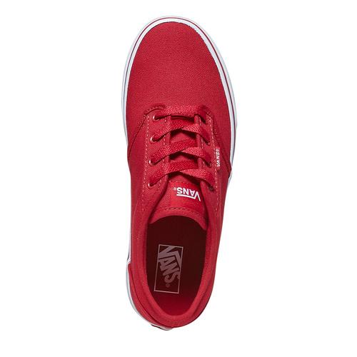 Sneakers rosse da bambino vans, rosso, 489-5101 - 19