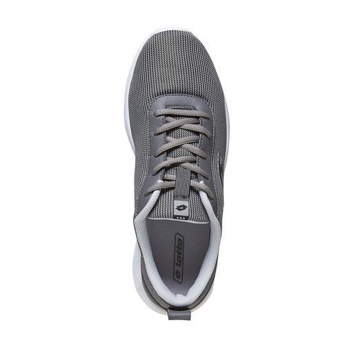 Sneakers da uomo con suola appariscente lotto, grigio, 809-2146 - 19