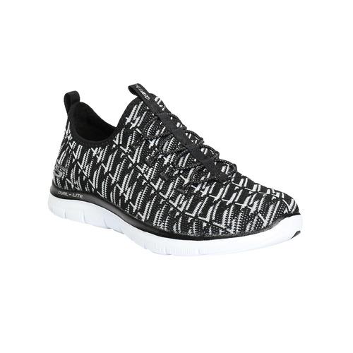 Sneakers sportive con motivo skechers, nero, 509-6967 - 13