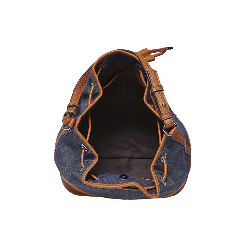 Borsetta in stile Bucket Bag bata, blu, 969-9332 - 15