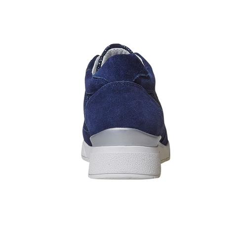 Sneakers casual da donna flexible, blu, 529-9586 - 17