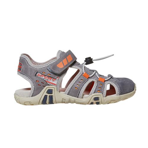 Sandali da bambino mini-b, grigio, 361-2218 - 15