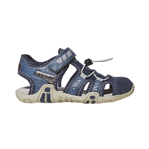 Sandali blu da bambino mini-b, blu, 361-9218 - 15