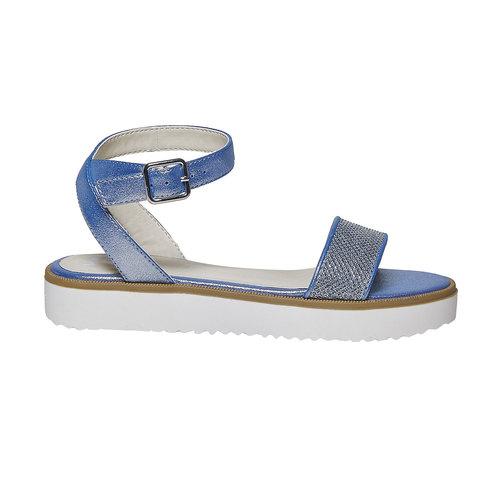 Sandali blu da bambina mini-b, blu, 361-9194 - 15