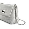 Minibag in vera pelle bata, argento, 964-2239 - 15