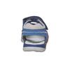 Sandali in pelle blu mini-b, blu, 264-9184 - 17