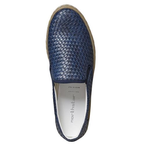 Slip-on da uomo north-star, blu, 851-9316 - 26