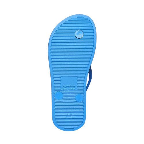 Infradito da bambino con stampa ipanema, blu, 372-9167 - 26