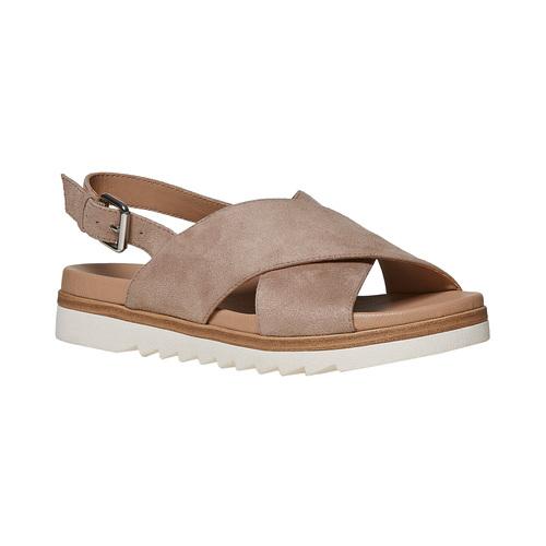 Sandali da donna con suola appariscente bata, 569-2436 - 13