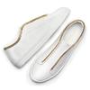 Slip on con dettaglio catena gold north-star, bianco, 541-1129 - 19
