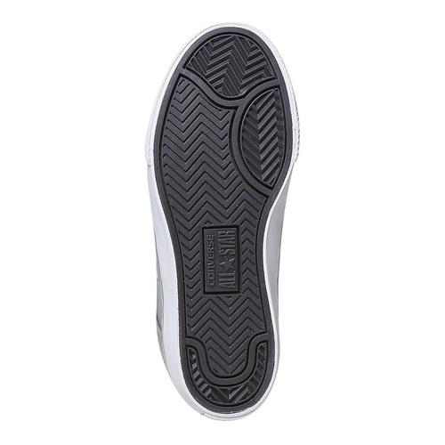 Sneakers grigie da bambino converse, grigio, 389-2259 - 26