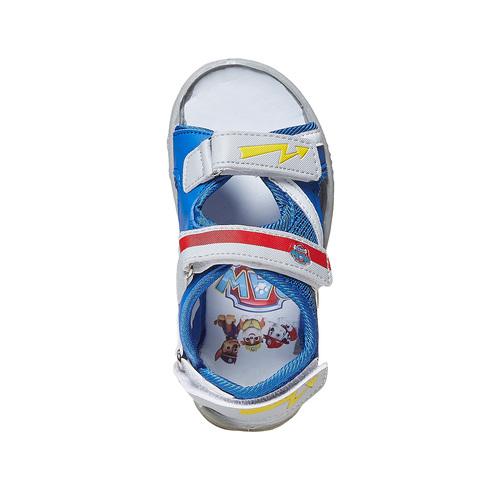 Sandali da bambino con chiusure a velcro, blu, 261-9194 - 19