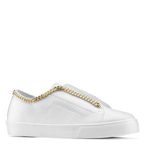 Slip on con dettaglio catena gold north-star, bianco, 541-1129 - 13