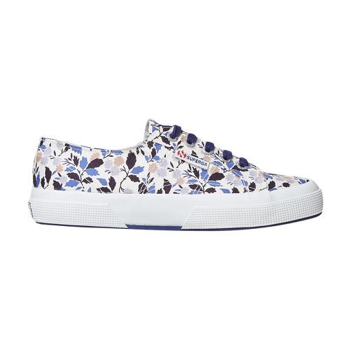 Sneakers casual da donna con motivo superga, viola, 589-9987 - 15