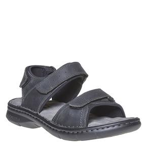 Sandali in pelle da uomo weinbrenner, nero, 866-6269 - 13