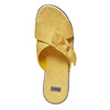 Slip-on gialle da donna con strass bata, giallo, 569-8413 - 19