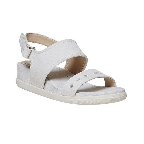 Sandali da donna con suola appariscente bata, beige, 569-8303 - 13
