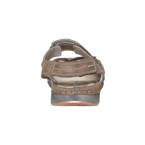 Sandali in pelle da uomo weinbrenner, marrone, 866-4278 - 17