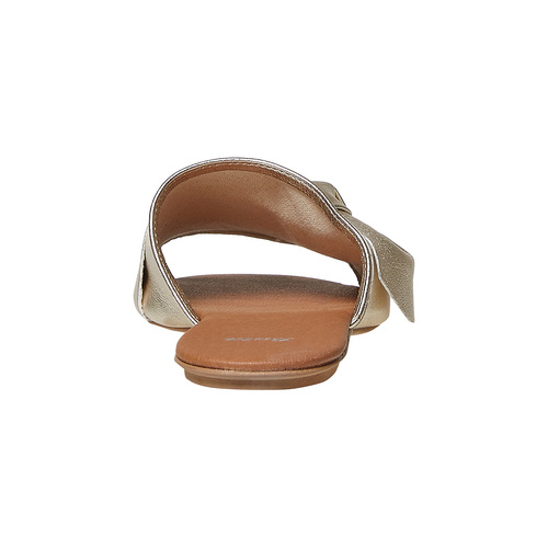 Slip-on dorate da donna bata, oro, 564-8411 - 17