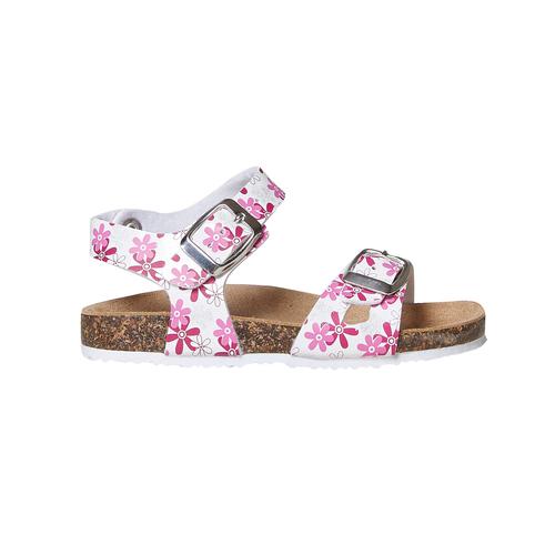 Sandali da bambina con motivo mini-b, rosa, 261-1185 - 15