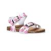 Sandali da bambina con motivo mini-b, rosa, 261-1185 - 13