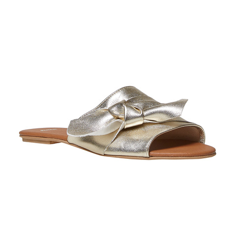 Slip-on dorate da donna bata, oro, 564-8411 - 13