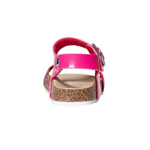 Sandali rosa da bambina con glitter mini-b, rosa, 361-5232 - 17