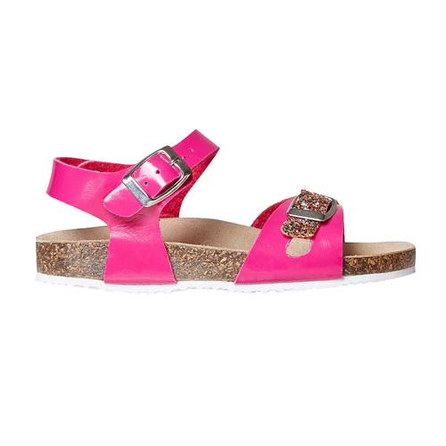 Sandali rosa da bambina con glitter mini-b, rosa, 361-5232 - 15