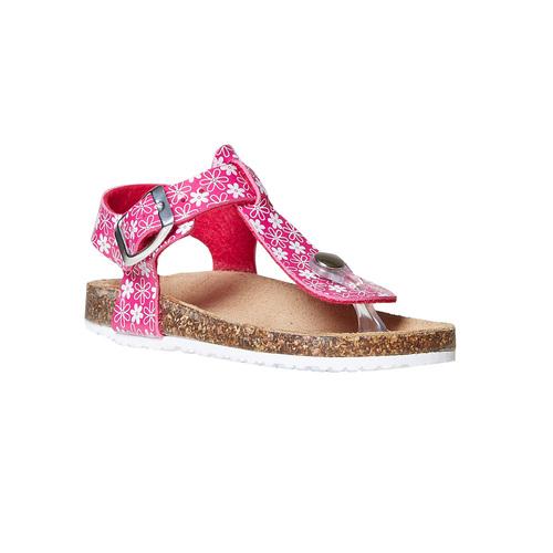 Sandali rosa da bambina mini-b, rosa, 261-5186 - 13