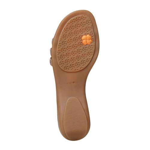 Sandali da donna in pelle sundrops, giallo, 564-8402 - 26