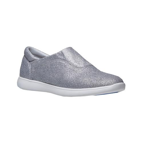 Sneakers argentate da donna bata, argento, 519-1335 - 13