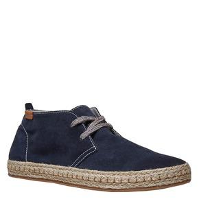 Desert Boots in pelle bata, viola, 853-9321 - 13