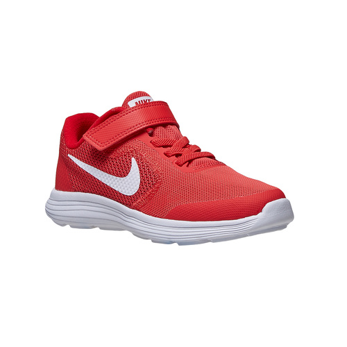 Sneakers rosse da bambino nike, rosso, 309-5249 - 13