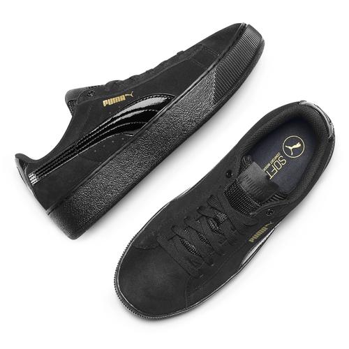 Sneakers Puma donna puma, nero, 503-6923 - 19