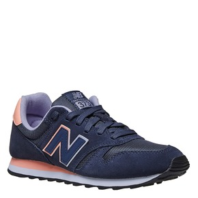 Sneakers da donna in pelle new-balance, blu, 503-9107 - 13